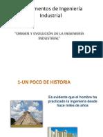 Origen y Evolucion de La Ing-1 Pptx