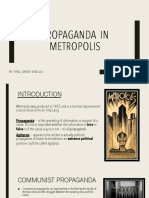 Metropolis and Propaganda