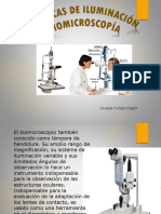 Biomicroscopia Tecnicas de Iluminacion