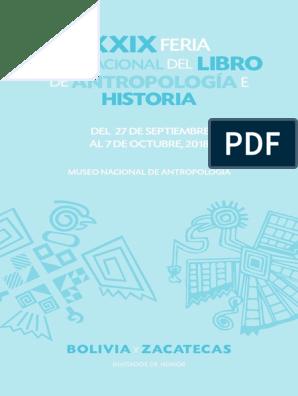 20180912 Filah2018 Programa Pdf México Bolivia