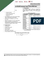 Data Sheet 74LS00