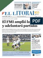 El Litoral Mañana   27/09/2018