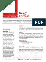 Pos Graduacao 2015 Design Editorial Infografia