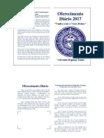 Oferecimento Diário 2017