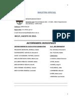 BOLETIN OFICIAL N° 81 - AGOSTO  2018..-