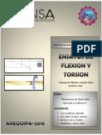 Flexion y Torsion