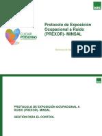 Presentación difusión PREXOR