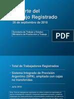 Reporte Laboral Septiembre 2018