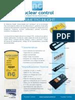 Dosimetro_NuclearControl Info. Tecnica
