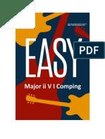 Easy Major II v I Comping Preview