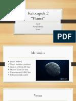 Presentasi Planet