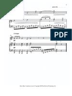 Puccini - O My Beloved Father B Sheet Music -