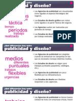 Diferencias Entre Publicidad y Diseno