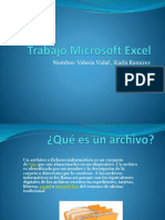 Trabajo Microsoft Excel Vvaaaa