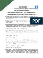 Lista REDOX Com Resposta e Dados 2012