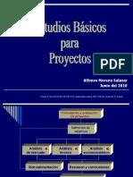 Estudios Básicos para Proyectos