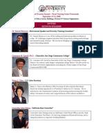 2008 Keynote Speakers