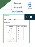 Examen Septiembre6to2018