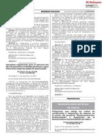 Ordenanza que rebaja los costos de certificación y asignación de número en el marco del proyecto Reestructuración Ordenamiento y Asignación de la Nomenclatura Vial del distrito de Chilca