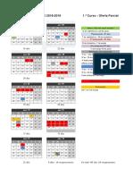 Calendario curso escolar 2018.2019