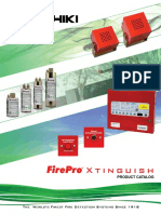 FirePro Xtinguish Product Catalog