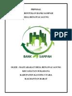 PRPOSAL bank sampah
