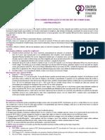 Cartilha Informativa Sobre Indicação e Uso de Diu de Cobre Para Contracepção