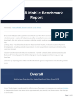 2018 Mobile Benchmark Report#How to Build a Stellar App User Acquisition Plan