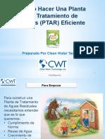 CWT Como Hacer Una Planta de Tratamiento de Aguas PTAR Eficiente