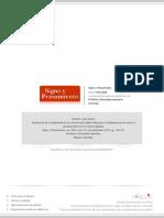 Amador, Juan Carlos - Mutaciones de la subjetividad en la comunicación digital interactiva. [Artículo, Signo y pensamiento]