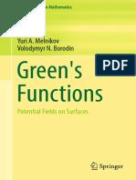 (Developments in Mathematics 48) Yuri a. Melnikov, Volodymyr N. Borodin (Auth.)-Green's Functions_ Potential Fields on Surfaces-Springer International Publishing (2017)