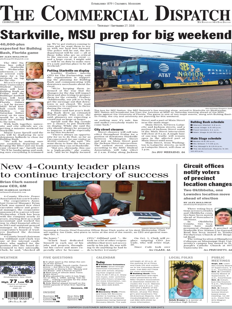 Commercial Dispatch eEdition 9-27-18   United States Postal