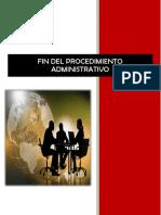 Fin Del Procedimiento Administrativo Modificadoo