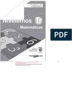 Cuaderno de Actividades Del Estudiante -Nivelemos Matemáticas Transición MEN