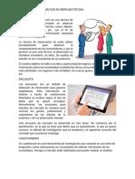 Fuentes de Informacion en Mercadotecnia