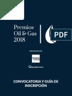 Guia y Convocatoria 2018