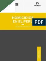 Homicidios en El Perú.