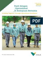 PT Vale Indonesia Tbk Annual Report 2014