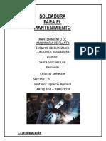 Informe Dureza en Soldadura