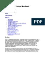 FHWA Noise Barrier Design Handbook