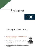 Antecedent Es