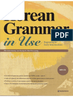 Korean Grammar in Use Beginner