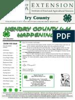 Hendry County 4-H September Newsletter