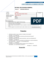 Economia 11 Examen Final