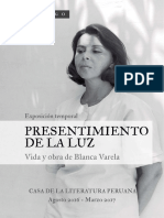 Catalogo Blanca Varela Casa de la Literatura