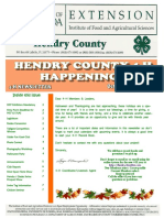 Hendry County 4-H October November 2018 Newsletter
