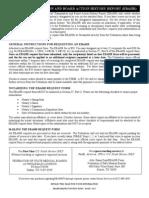 EBAHR Form Instructions