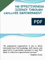 Employee Empowerment Final