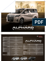 Alphard 2018 Brochure