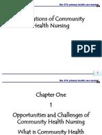 1. Community Health Nursing 0